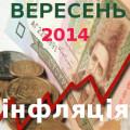 Індекс інфляції 09 2014