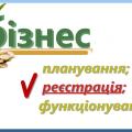Реєстрація ФОП та послуги підприємцям з податкового обліку